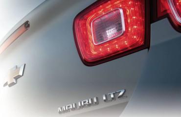2013 Chevy Malibu Tail