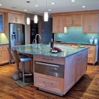 """A Kitchen Fit for a Chef"" Design: A Kitchen That Works LLC; Builder: Agate Pass Enterprises"