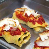 Four-cheese winter lasagna