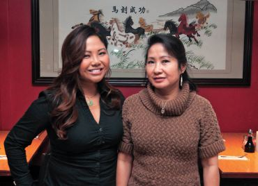 Tina Nguyen and her daughter, Sophia