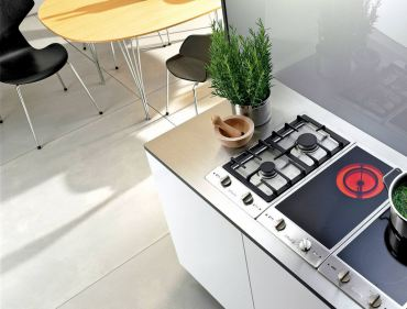 Miele Combies — Enjoy a variety of cooking styles? Consider combining a variety of 12-inch or 15-inch cooktops — gas, electric, induction, tepan yaki, steamers, griddles, grills or deep-fat fryers.