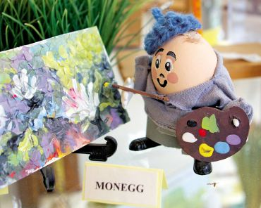 """Monegg"" from the Easter Egg Hall of Fame will put a smile on your face."