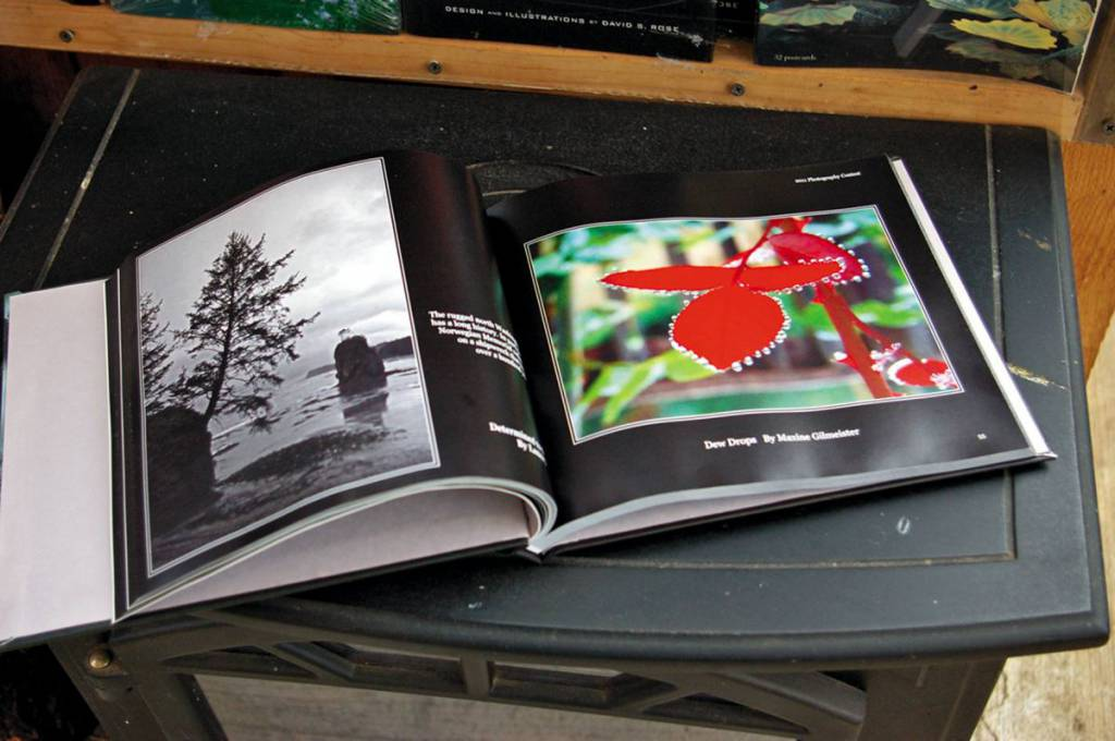 Relax And Peruse The Photography Contest Books Compiled By Cheryl Pelkey.  Perhaps You Have An Entry For Next Year?