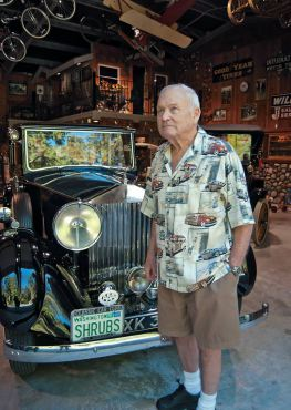A Love of Plants, Cars and Life Make Jerry McAuliffe A Driving Force