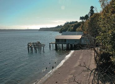 Gig Harbor's Net Sheds Harken Back to Yesteryear