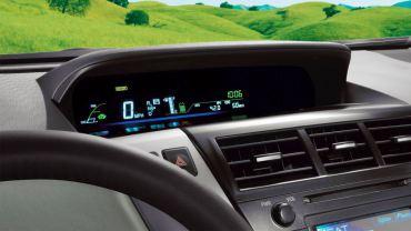 2014 Toyota Prius V Dashboard