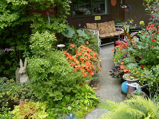 The Skyler Garden, Bainbridge Island. (Photo Credit: Cheryl McClain)