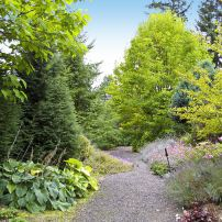 """Enjoy the variety of tactile and visual pleasures in the display gardens and get some """"combination inspiration."""""""