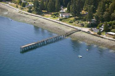 The Historic Harper Pier before demolition. Photo courtesy Legendary Portraits