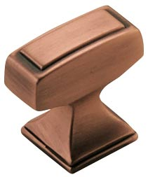 Amerock Mulholand knob in copper finish