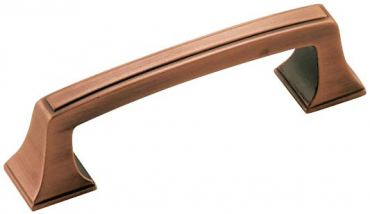 Amerock Mulholand pull in copper finish