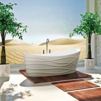 Dune Dimentional tub by Clark
