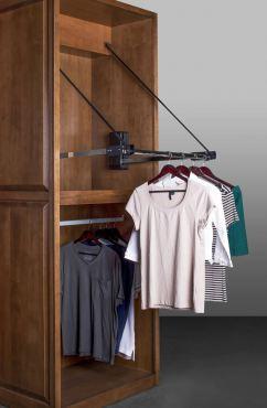 Hafele remote closet rod