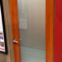 Simpson 7002 electric privacy glass door