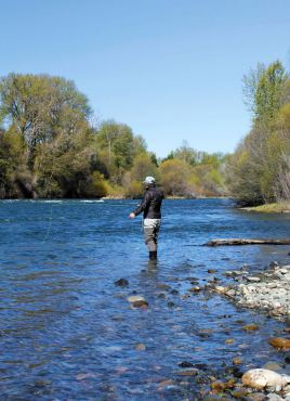 Fly Fishing With the Reel Girls (Photo courtesy Mike Canady)