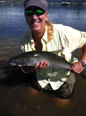 Fly Fishing With the Reel Girls (Photo courtesy Ed Tamai)