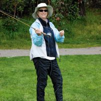 Fly Fishing With the Reel Girls (Photo courtesy Robbi Krumm)