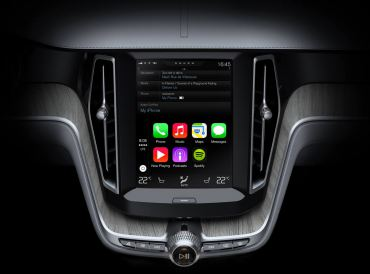 2015 Volvo XC90 Apple Vehicle Interface