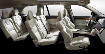 2015 Volvo XC90 Interior Cutaway
