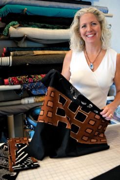 Designer and Artist Terry Logan — The Logger's Daughter