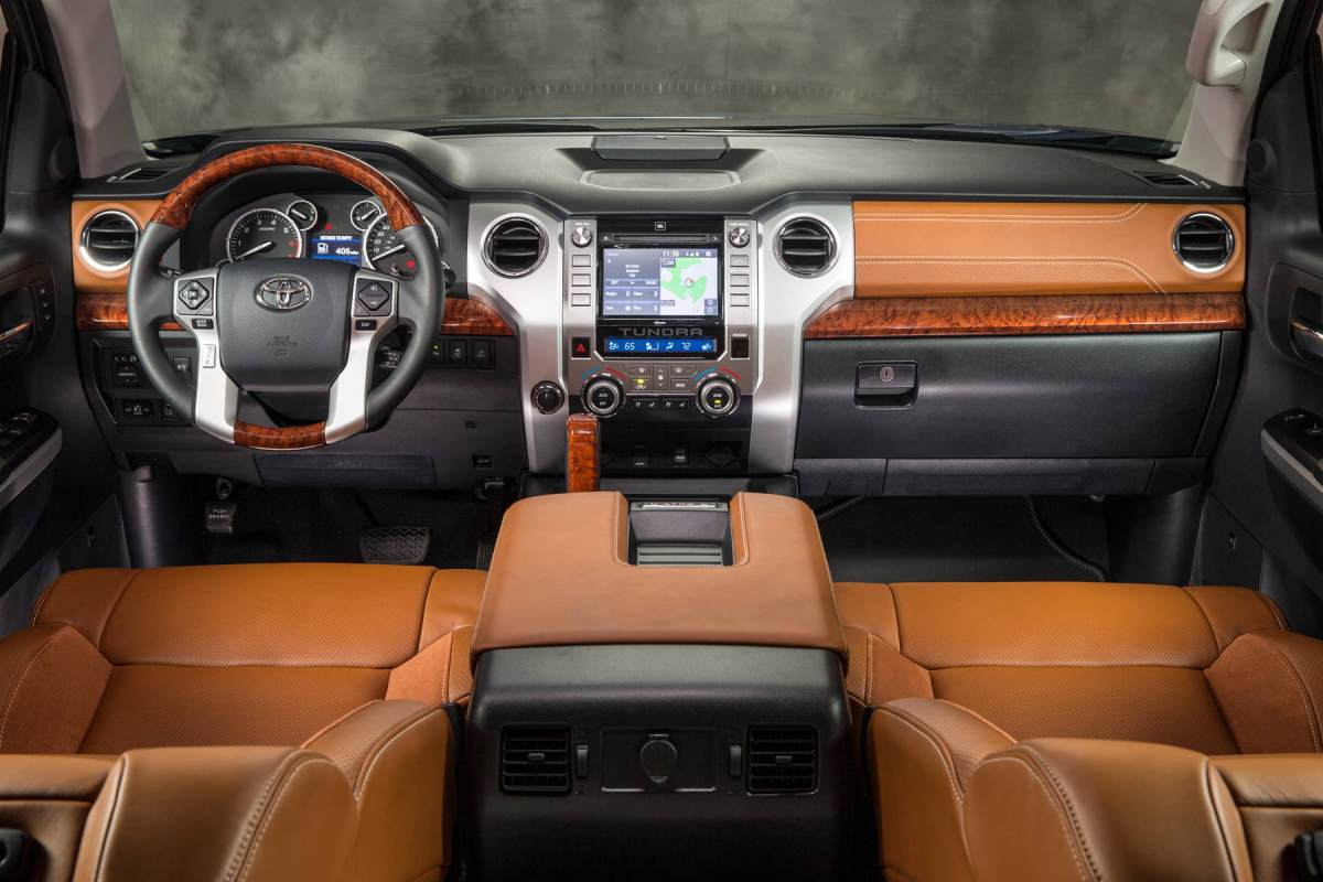 Wshg Net 2014 Toyota Tundra 1794 Unparalleled Luxury In A Tough Truck Automotive Reviews