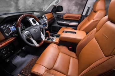 2014 Toyota Tundra 1794 Front Seats