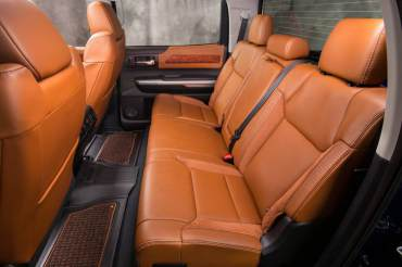 2014 Toyota Tundra 1794 Back Seats