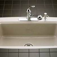 Kohler Cape Dory tiled-in sink