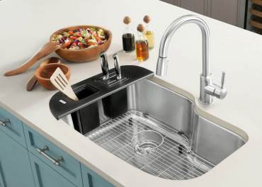 Blanco under-mount One Sink in stainless steel