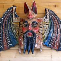Jim Valley: Folk art mask from Monterrey, Mexico