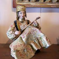 Princess statue from Kazakhstan