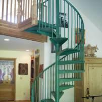 Jim Valley: Spiral Stairway