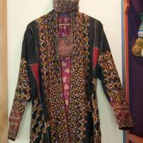 Jim Valley: Turkmenistan coat for a woman