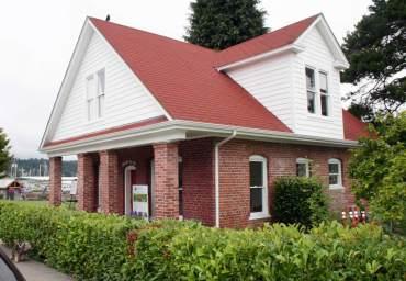Skansie House, Visitor Information Center
