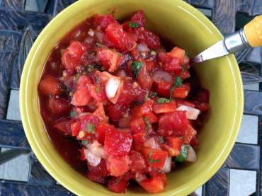 Easy Summer Salsa