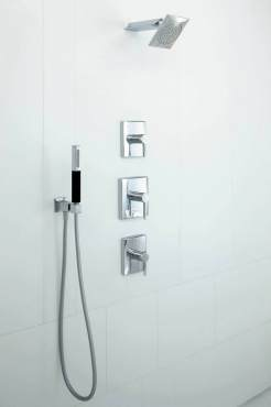 All About Showers - Kohler Thermostatic Shower system