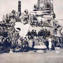 Kitsap County Boys and Girls Canning Clubs, aboard the U.S.S. Nevada, October 25th, 1923. (Turner Photo)
