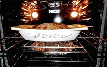 Wild Game Meatloaf in Vintage Casserole Dish