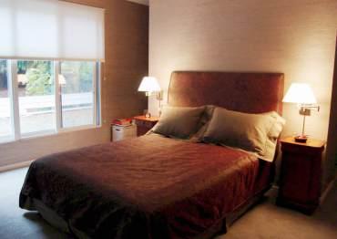 Condominium bedroom design by Stephanie Lee Harris
