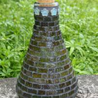 Simple yet fetching mosaic cruet. (Photo by Colleen Miko)
