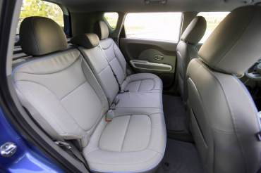 2015 Kia Soul EV Seating