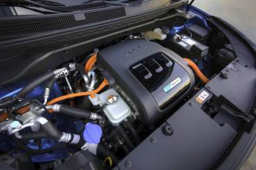 2015 Kia Soul EV Engine