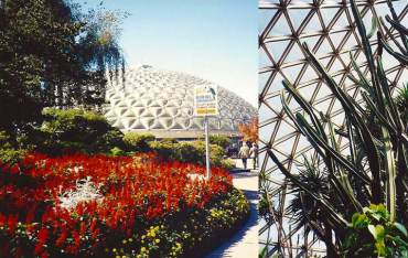 Bloedel Conservatory in Vancouver, BC, 1990-91