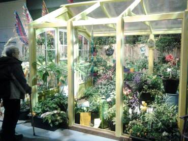 Hobby Greenhouse, the Northwest Flower and Garden Show, 2014