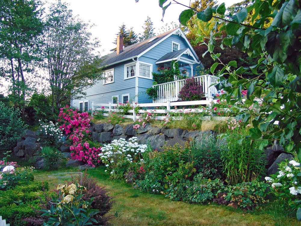 Wshg Net Orchard House An English Cottage Garden The