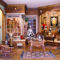 Patricia Peat's Magical Creations — The Armory miniature room