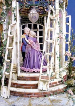 "The ""Forgotten Garden"" was built using a music box as a base."