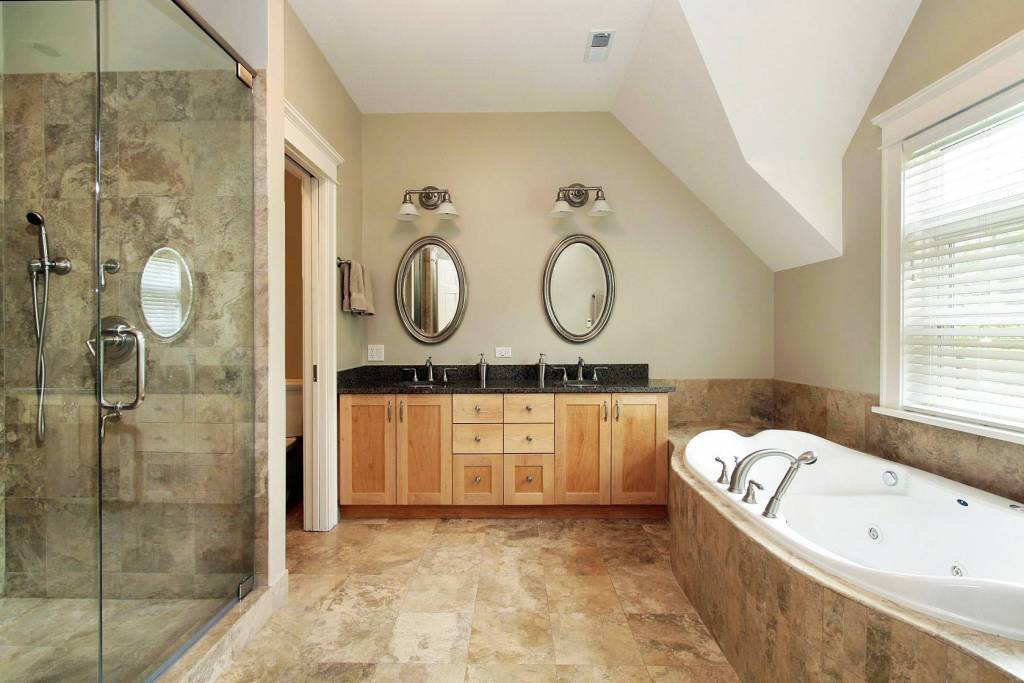 Wshg net blog remodeling trends part 2 the master bath for Second bathroom ideas