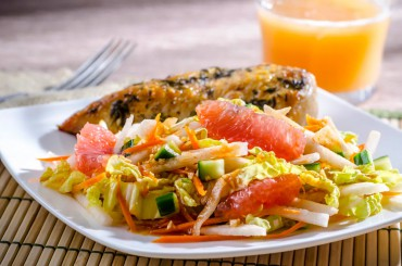 Florida Grapefruit and Jicama Vietnamese Salad