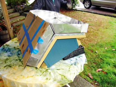 How to Build a Green Roof Birdhouse Fig. 3